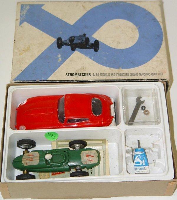 1023: BOXED STROMBECKER MOTORIZED ROAD RACING KIT