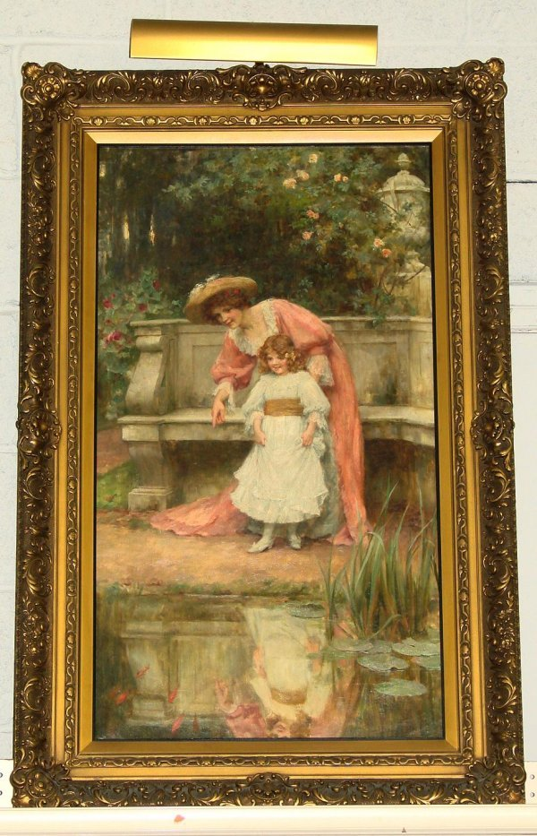 3005: GEORGE SHERIDAN KNOWLES OIL ON CANVAS THERE O
