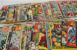 4050 MIXED LOT OF DC AND MARVEL COMICS