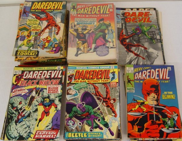 4095: HUGE LOT OF DAREDEVIL COMICS