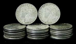 1: SILVER DOLLAR LOT 20 DIFFERENT COINS