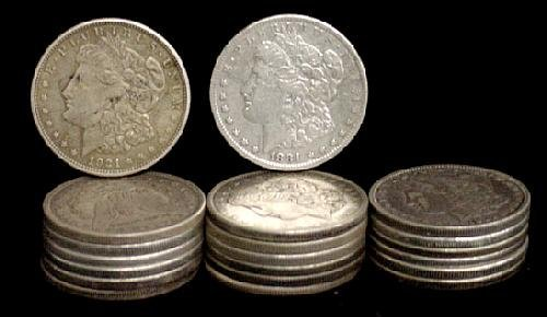 2: SILVER DOLLAR LOT 20 DIFFERENT COINS