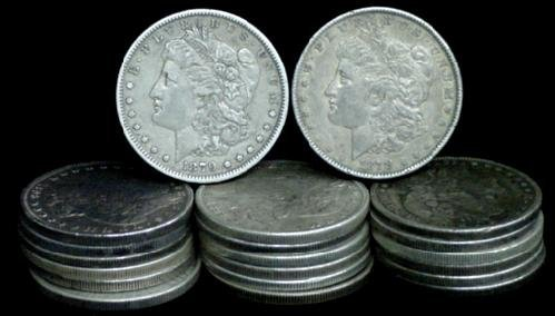 3: SILVER DOLLAR LOT 20 DIFFERENT COINS