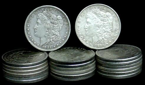 4: SILVER DOLLAR LOT 20 DIFFERENT COINS