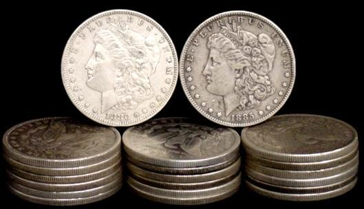 5: SILVER DOLLAR LOT 20 DIFFERENT COINS