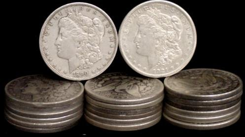 7: SILVER DOLLAR LOT 20 DIFFERENT COINS
