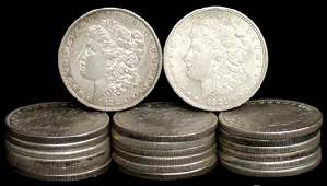 9: SILVER DOLLAR LOT 20 DIFFERENT COINS