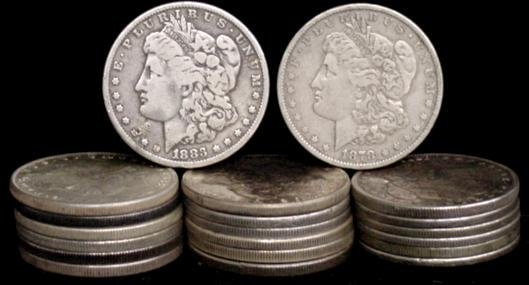 10: SILVER DOLLAR LOT 20 DIFFERENT COINS