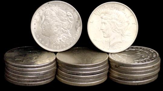 11: SILVER DOLLAR LOT 20 DIFFERENT COINS