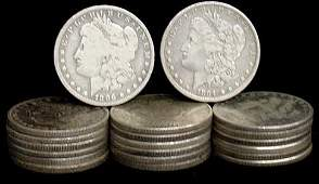 13: SILVER DOLLAR LOT 20 DIFFERENT COINS