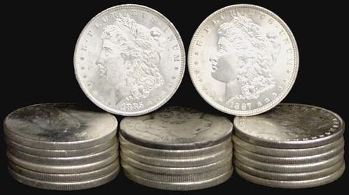 14: SILVER DOLLAR LOT 20 DIFFERENT COINS