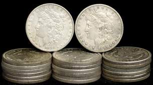 18: SILVER DOLLAR LOT 20 DIFFERENT COINS