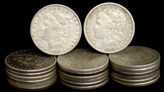 20: SILVER DOLLAR LOT 20 DIFFERENT COINS