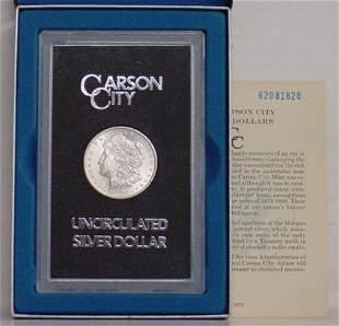 1883 CC UNCIRCULATED MORGAN DOLLAR