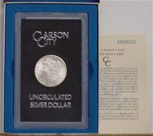 1884 CC UNCIRCULATED DOLLAR