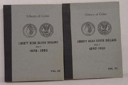 COIN COLLECTION IN 2 BOOKS