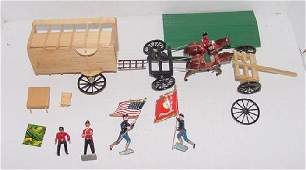 MISCL. TOY SOLDIER LOT