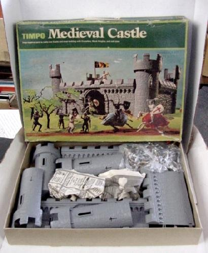 430: TIMPO MEDIEVAL CASTLE IN BOX
