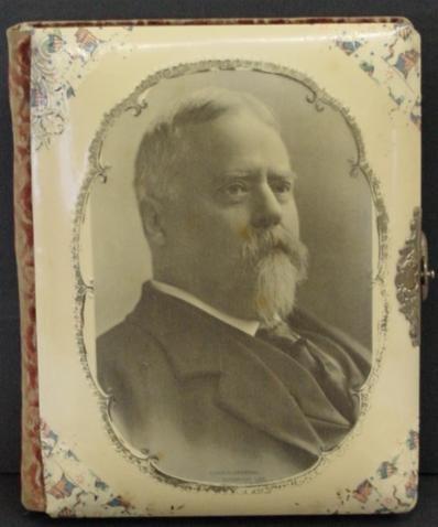1011: CELLULOID CABINET CARD, FITZHUGH LEE