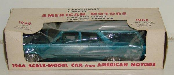 2: AMERICAN MOTERS 1966 RAMBLER WAGON