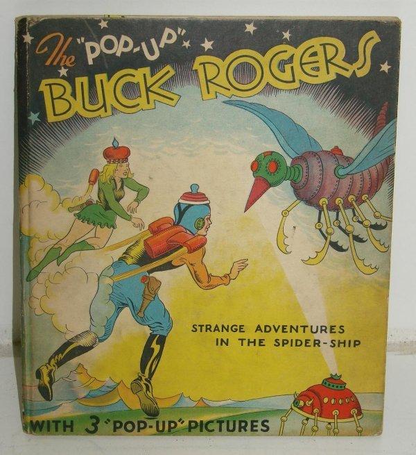 5: BUCK ROGERS POP UP BOOK