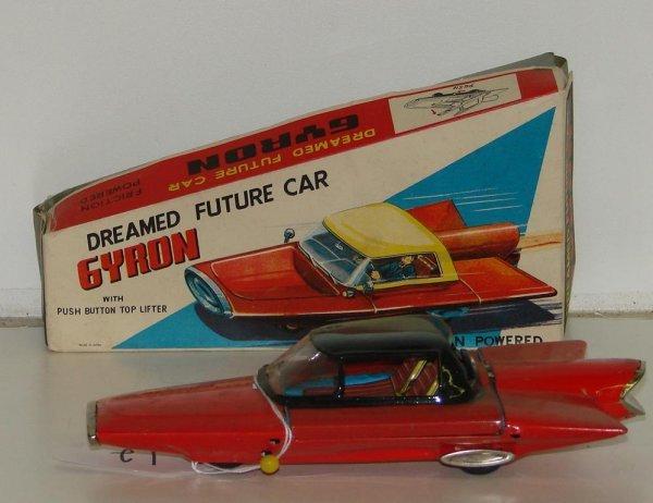 12: BOXED FRICTION GYRON FUTURE CAR JAPAN