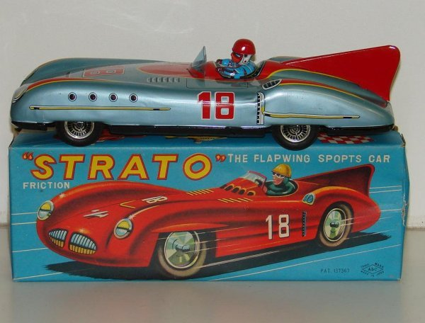 14: BOXED FRICTION STRATO SPORTS CAR JAPAN