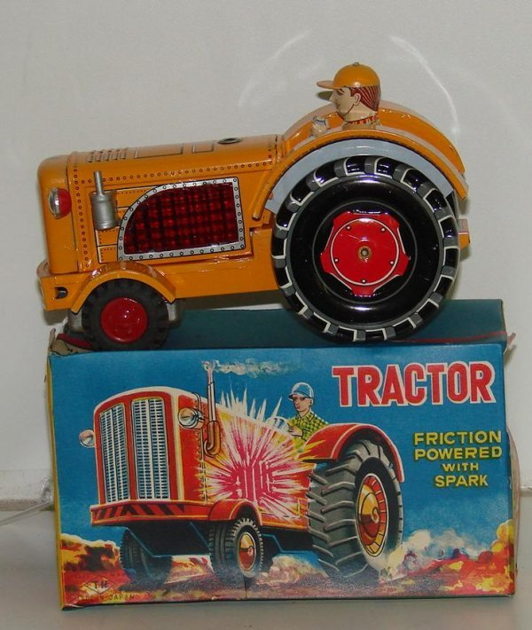 16: BOXED FRICTION TRACTOR JAPAN