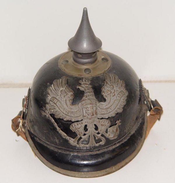 20: CIRCA 1915 GERMAN SPIKE HELMET