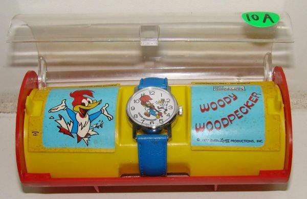 10A: 1977 BOXED WOODY WOODPECKER WATCH
