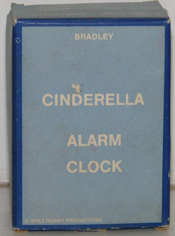 15A: VINTAGE BOXED BRADLEY CINDERELLA ALARM CLOCK