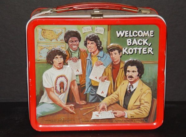 18: 1977 WELCOME BACK KOTTER LUNCHBOX