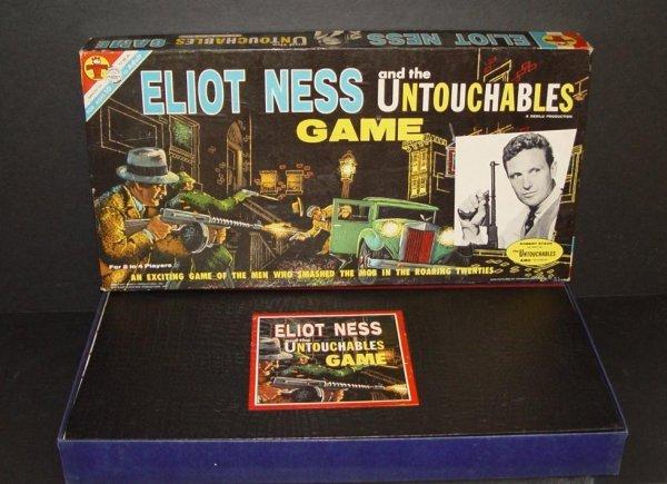 23: 1961 ELIOT NESS UNTOUCHABLES BOARD GAME