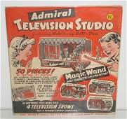 88: ADMIRAL TELEVISION STUDIO PREMIUM SET