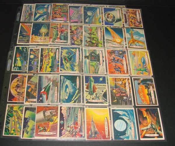 203: 1958 TOPPS SPACE CARDS COMPLETE SET OF 88