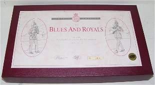 447: BRITAINS LTD ED. BLUES & ROYALS SET #5293