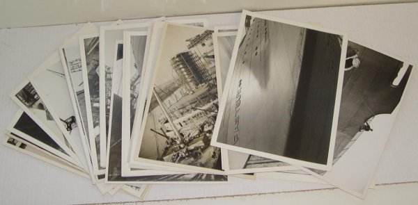 2003: COLLECTION OF PHOTOS OCEAN LINER PASTEUR