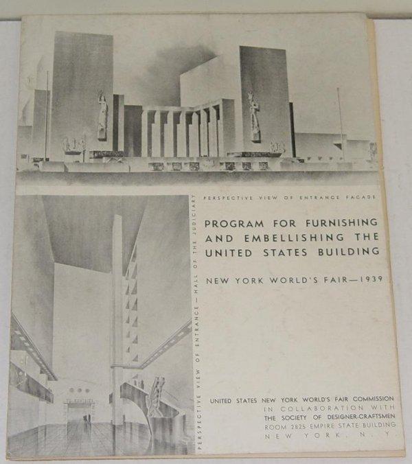2006: 1939 NY WORLD'S FAIR PROGRAM US BUILDING