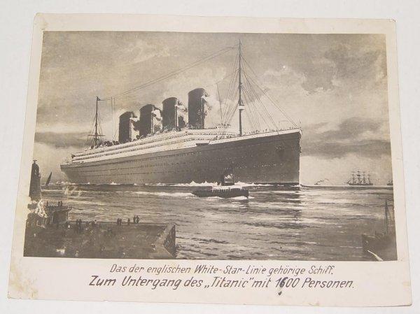 2007: GERMAN PRESS PHOTO TITANIC