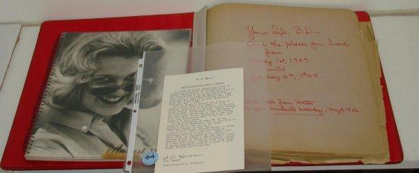 2265: B.D. HYMAN PHOTO ALBUM BETTY DAVIS