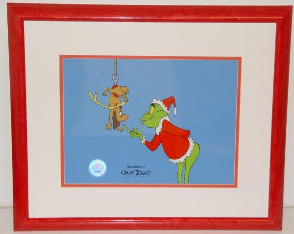 4: THE GRINCH LIMITED EDITION SERIGRAPH CEL