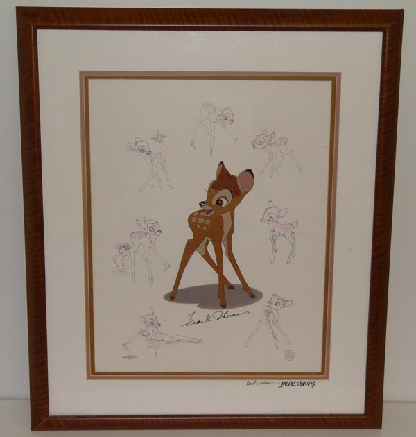 20: BAMBI HAND INKED HAND PAINTED LIMITED ED CEL
