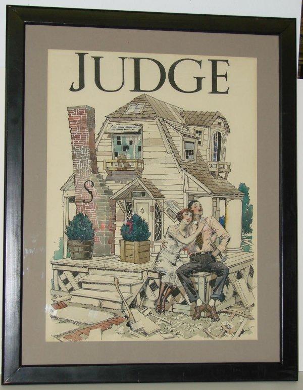 122: JUDGE MAGAZINE COVER ART ORSON BYRON LOWELL