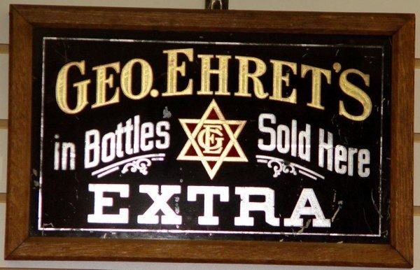 2010: GEO EHRETS. BEER SIGN.
