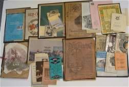 2145 BOX LOT OF PAPER EPHEMERA