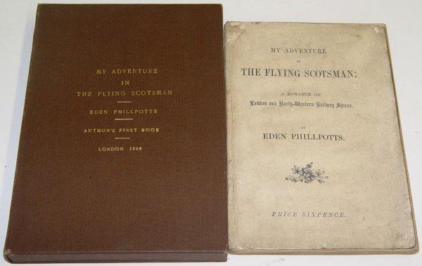 3010: PHILLPOTTS. AUTHOR 1ST BOOK.