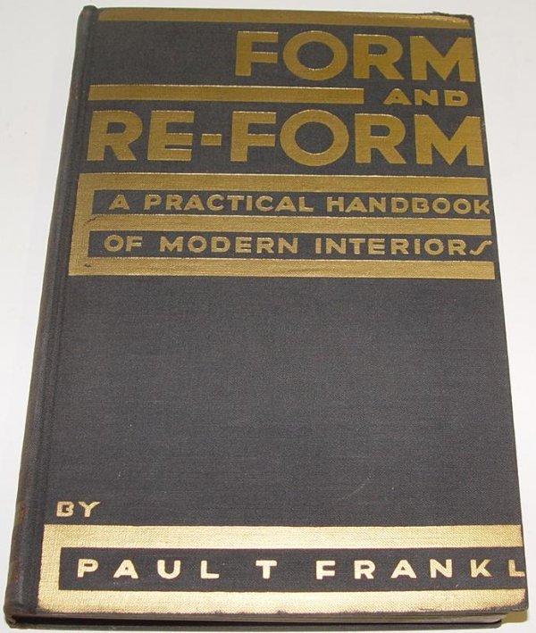 3024: INTERIOR DESIGN. PAUL T .FRANKL.