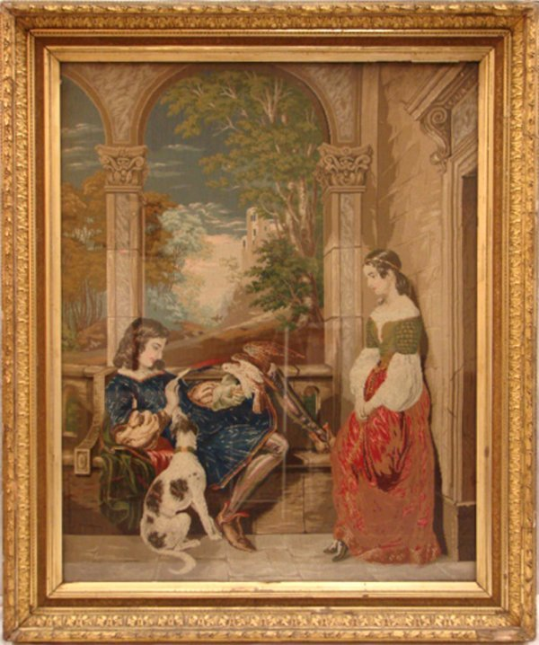 9: LARGE IMPORTANT PERIOD FLEMISH TAPESTRY