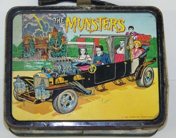 2015: 1965 MUNSTERS METAL LUNCHBOX KING SEELEY