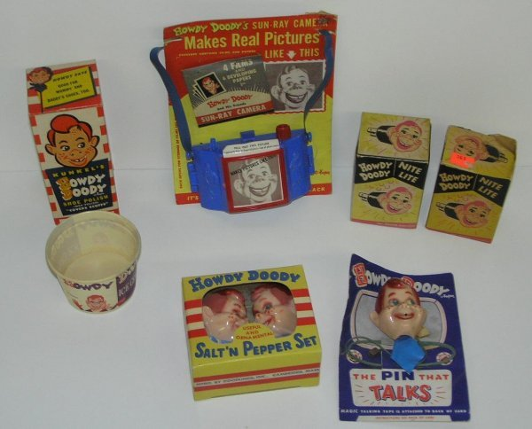 2244: HOWDY DOODY LOT OF 50'S MATERIAL.